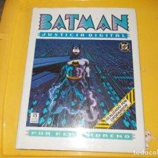 Cómics: BATMAN. JUSTICIA DIGITAL. TOMO TAPA DURA. ZINCO. Lote 197190317
