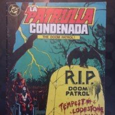 Cómics: LA PATRULLA CONDENADA THE DOOM PATROL N.5 : RIP DOOM PATROL . ( 1988 ).. Lote 197301727