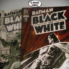 Cómics: BATMAN, BLACK AND WHITE, COLECCION COMPLETA, ED. ZINCO, 1ª EDICIÓN DE 1996. Lote 197428021