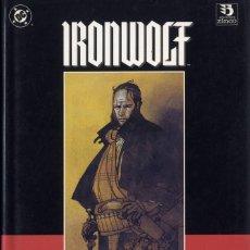 Cómics: IRONWOOLF MIGNOLA - CHAYHIN- MOORE TAPAS DURAS AÑO 1992 CAJA DC - 1 96 PÁGS.. Lote 197539758