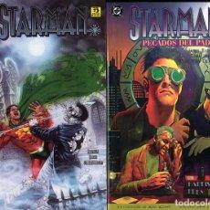 Cómics: STARMAN DOS RECOPILATORIOS DE LOS 6 USA CAJA DC - 1 FINALISTA PREMIOS EISNER AÑO 1994. Lote 197540101