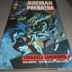 Cómics: BATMAN VERSUS PREDATOR - VENGANZA SANGRIENTA . Lote 197555338