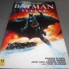 Cómics: BATMAN - VUELVE ADAPTACION DE LA PELICULA. Lote 197556020