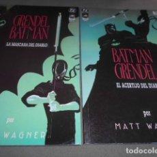 Cómics: BATMAN Y GRENDEL COMPLETA EN 2 NUMEROS. Lote 197558878