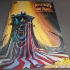 Cómics: BATMAN - TERROR SAGRADO. Lote 197559567
