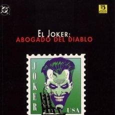 Cómics: EL JOKER ABOGADO DEL DIABLO NOLAN NOVELA GRÁFICA 1996 94 PGS. CAJA DC - 1. Lote 197567755