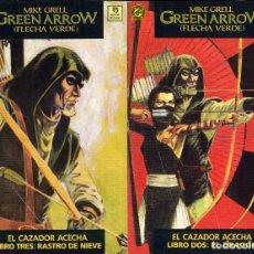 Cómics: GREEN ARROW Nº 2 Y 3 DE TRES MIKE GRELL AÑO 1988 CAJA DC - 1. Lote 197573057