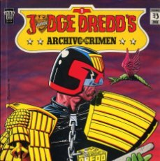 Cómics: ADCHIVOS DEL CRIMEN DIBUJOS VARIOS AÑO 1990 BOLLAND,TALBOT,ORTIZ HIGGINS CAJA DC - 1. Lote 197573613
