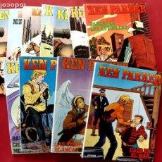 Cómics: KEN PARKER COLECCION COMPLETA 18 NUMEROS EXCELENTE ESTADO. Lote 197645983