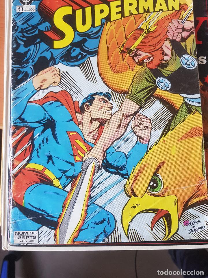 SUPERMAN NUMERO 36 (Tebeos y Comics - Zinco - Superman)