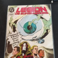 Cómics: ZINCO DC LEGION DE SUPER-HEROES NUMEROS DEL 29 AL 31 Y EXTRA 1 Y 2 BUEN ESTADO. Lote 197742468