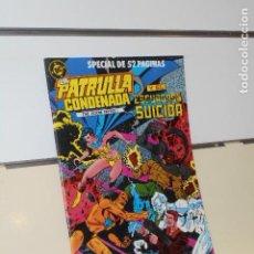 Comics: LA PATRULLA CONDENADA Y EL ESCUADRON SUICIDA Nº 7 ESPECIAL DE 52 PAGINAS - ZINCO. Lote 197814640