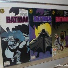 Comics: BATMAN AÑO I UNO COMPLETA 3 NUM. ZINCO OCASION. Lote 197822708