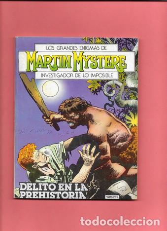 MARTIN MYSTERE NUMERO 6 DELITO EN LA PREHISTORIA (Tebeos y Comics - Zinco - Otros)
