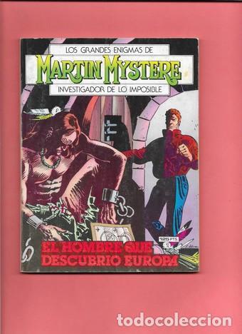 MARTIN MYSTERE NUMERO 7 EL HOMBRE QUE DESCUBRIO EUROPA (Tebeos y Comics - Zinco - Otros)