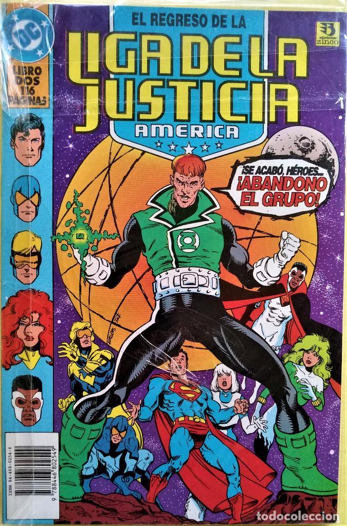EL REGRESO DE LA LIGA DE LA JUSTICIA DE AMERICA TOMO 2 DE DAN JURGENS (Tebeos y Comics - Zinco - Liga de la Justicia)