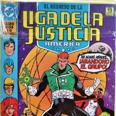 Cómics: EL REGRESO DE LA LIGA DE LA JUSTICIA DE AMERICA TOMO 2 DE DAN JURGENS. Lote 197861946