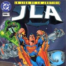 Cómics: GRANT MORRISON.JLA. LIGA DE LA JUSTICIA 7.EL NUEVO EQUIPO. RUSTICA. EDITORIAL VID. Lote 197867361
