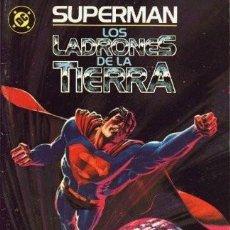 Cómics: SUPERMAN EDICIONES ZINCO LOS LADRONES DE LA TIERRA. Lote 293878263