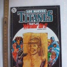 Cómics: LOS NUEVOS TITANES. Nº 11. QUIE ES WONDER GIRL. Lote 197923128