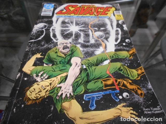 DOC SAVAGE SERIE COMPLETA EN 4 NUMEROS EN 1 RETAPADO (Tebeos y Comics - Zinco - Otros)