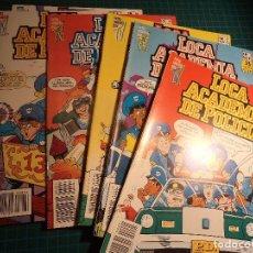 Comics : LOCA ACADEMIA DE POLICIA. COMPLETA. 6 NUMEROS. ZINCO.. Lote 197973440