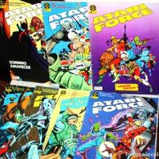 Comics: ATARI FORCE (CONWAY & GARCIA LOPEZ),NUMS. 01,02,05,07,10,11 Y 12. Lote 198055293