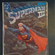 Cómics: CÓMIC SUPERMAN III DC, ADAPTACIÓN OFICIAL A LA PELÍCULA, VER FOTOS. Lote 198089760