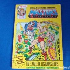Cómics: MASTER DEL UNIVERSO Nº 1 RETAPADOS, CONTIENE LOS NUMEROS 1 AL 4 DE ESTA COLECCIÓN! SM. Lote 198111467
