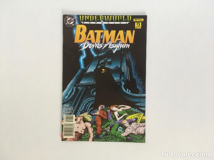 BATMAN: DEVILS ASYLUM. ESPECIAL UNDERWORLD POR ALAN GRANT, BRIAN STELFREEZE Y RICK BURCHETT. ZINCO. (Tebeos y Comics - Zinco - Batman)