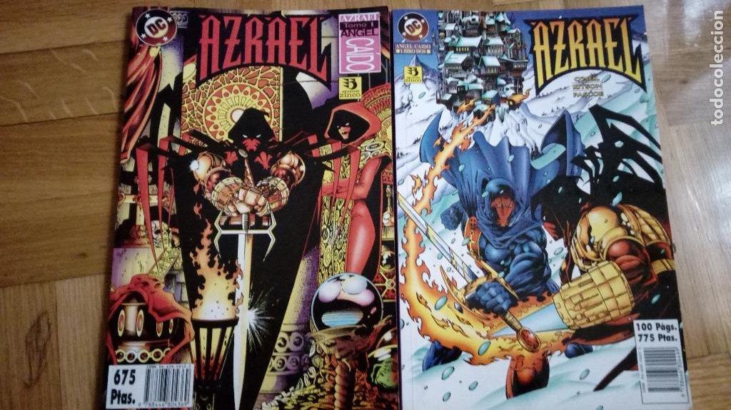 AZRAEL ANGEL CAIDO - COMPLETA 2 TOMOS - ZINCO - (Tebeos y Comics - Zinco - Batman)