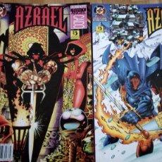 Cómics: AZRAEL ANGEL CAIDO - COMPLETA 2 TOMOS - ZINCO -. Lote 198158871