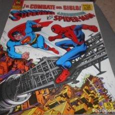 Cómics: EL COMBATE DEL SIGLO - SUPERMAN Y SPIDERMAN - FORMATO GRANDE. Lote 198220125