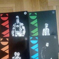Cómics: OMAC Nº 1 AL 4 (JOHN BYRNE) COMPLETA - EDICIONES ZINCO DC. Lote 198224972