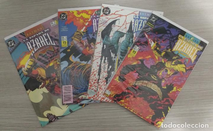BATMAN LA ESPADA DE AZRAEL MINISERIE COMPLETA NÚMEROS 1+2+3+4 GRAPA (ZINCO) (Tebeos y Comics - Zinco - Batman)
