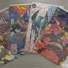 Cómics: BATMAN LA ESPADA DE AZRAEL MINISERIE COMPLETA NÚMEROS 1+2+3+4 GRAPA (ZINCO). Lote 198249446