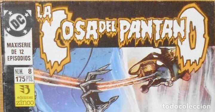 TEBEO CÓMICS LA COSA DEL PANTANO Nº8 LOTE 25 (Tebeos y Comics - Zinco - Cosa del Pantano)