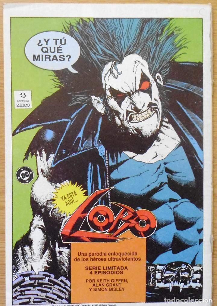 Cómics: TEBEO CÓMICS LA COSA DEL PANTANO Nº8 LOTE 25 - Foto 3 - 198343306