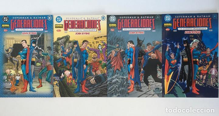 SUPERMAN & BATMAN: GENERACIONES DE JOHN BYRNE. NORMA. (Tebeos y Comics - Zinco - Prestiges y Tomos)