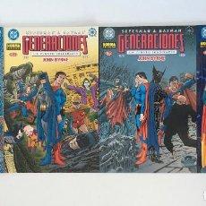 Cómics: SUPERMAN & BATMAN: GENERACIONES DE JOHN BYRNE. NORMA.. Lote 198416316