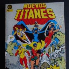 Cómics: NUEVOS TITANES RETAPADO CON 5 EJEMPLARES DEL Nº 1 AL 5 ZINCO. Lote 198462836