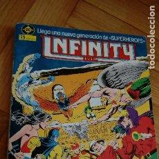 Cómics: INFINITY INC - TOMO Nº 1 RETAPADO - CONTIENE LOS NUMEROS DEL 1 AL 5. Lote 198483115