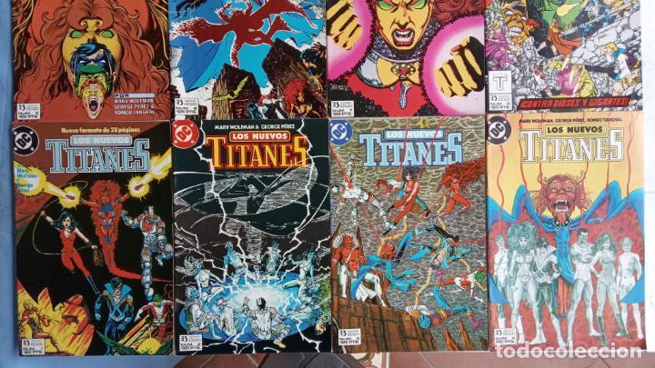 Cómics: LOS NUEVOS TITANES EDI. ZINCO 1984 - 1 AL 10 19,20 - NUEVOS - Foto 2 - 198490090