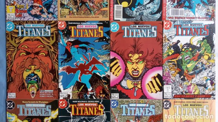 Cómics: LOS NUEVOS TITANES EDI. ZINCO 1984 - 1 AL 10 19,20 - NUEVOS - Foto 3 - 198490090