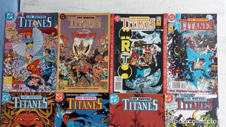 Cómics: LOS NUEVOS TITANES EDI. ZINCO 1984 - 1 AL 10 19,20 - NUEVOS - Foto 4 - 198490090