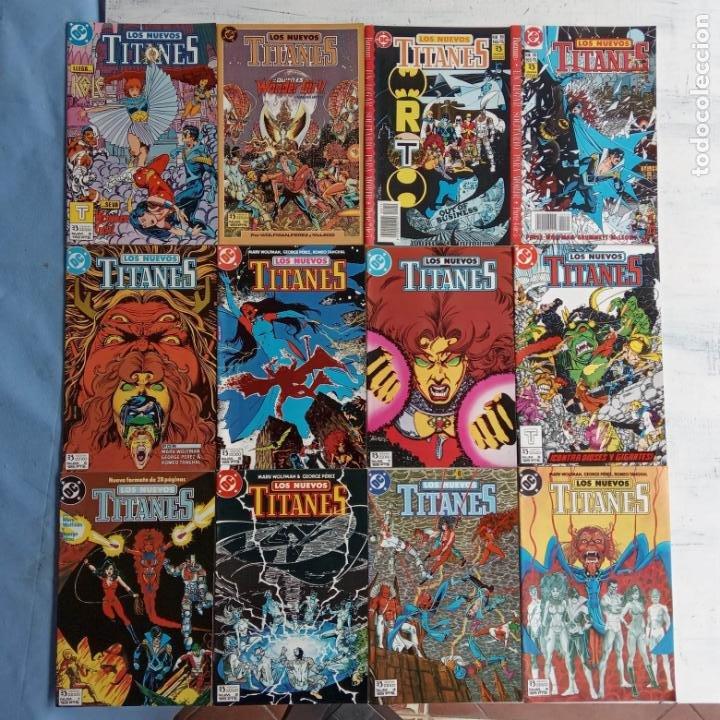LOS NUEVOS TITANES EDI. ZINCO 1984 - 1 AL 10 19,20 - NUEVOS (Tebeos y Comics - Zinco - Nuevos Titanes)