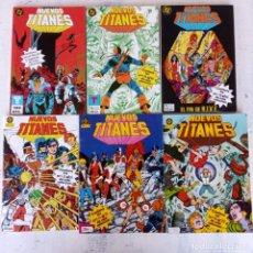Cómics: LOS NUEVOS TITANES ZINCO 1984 - 28 CÓMICS - 16 A 25 - 31 A 40 - 45 A 50 Y ESPECIAL VERANO. Lote 198490373