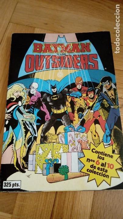 BATMAN OUTSIDERS TOMO Nº 2 RETAPADO - EDICIONES ZINCO - CONTIENE LOS NUMEROS DEL 6 AL 10 - 1988 (Tebeos y Comics - Zinco - Outsider)