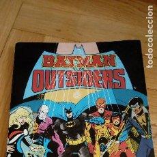 Cómics: BATMAN OUTSIDERS TOMO Nº 2 RETAPADO - EDICIONES ZINCO - CONTIENE LOS NUMEROS DEL 6 AL 10 - 1988. Lote 198541428