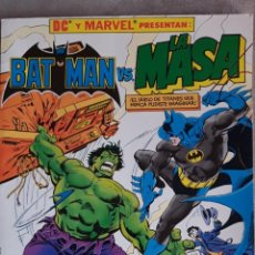 Cómics: BATMAN VS LA MASA (HULK) ZINCO 1989. Lote 198601048